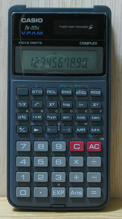 Casio Scientific Calculator Fx 115 Fx115 Fx115s 12 Month