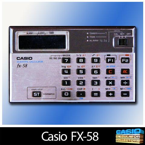 Casio Fx 100d calculator manual